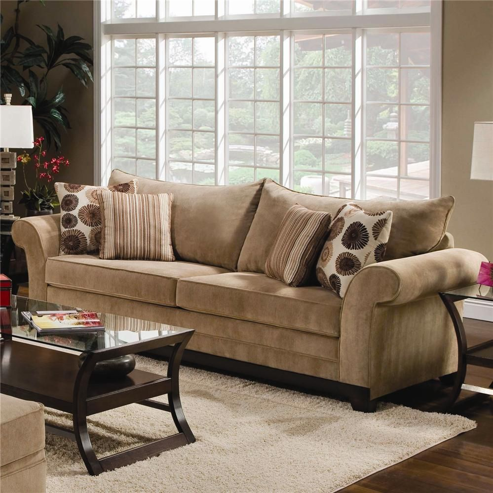 559 Stationary Sofa By United Furniture Industries Gardiners