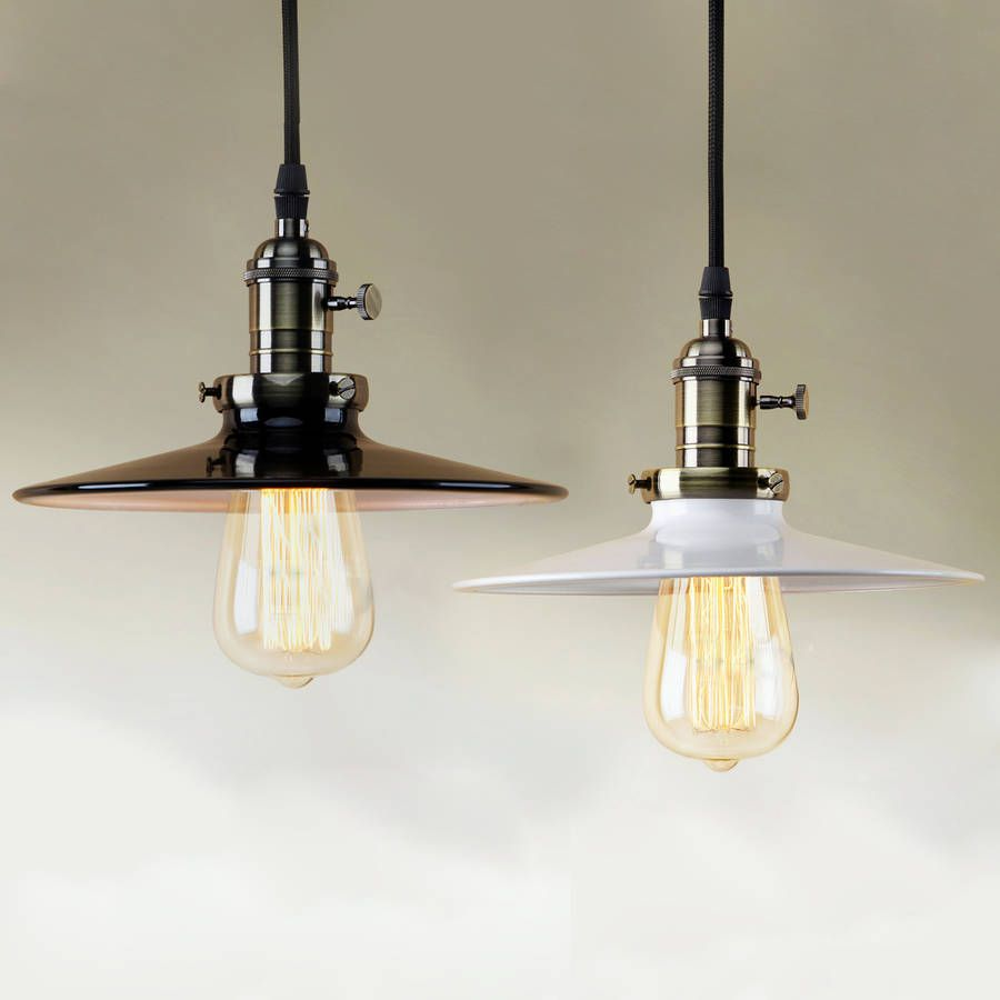 industrial style pendant lighting. A Strong Vintage Industrial Style Ceiling Pendant Light With Decorative Filament Bulb And Switched Lighting T