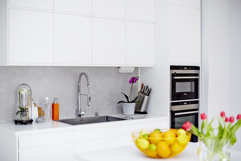 decoracin diseo cocinas modernas decoracin cocinas con pennsula cocinas nrdicas cocinas blancas nrdicas cocinas blancas modernas