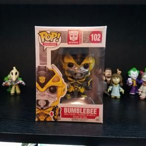 Bumblebee With Canon Funko Pop!