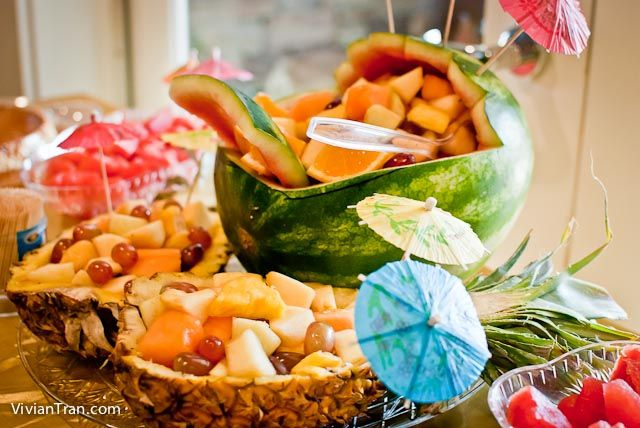 DIY Hawaiian Luau Party, Tropical Baby Shower, Hawaiian Theme DIY Party,  Luau Style