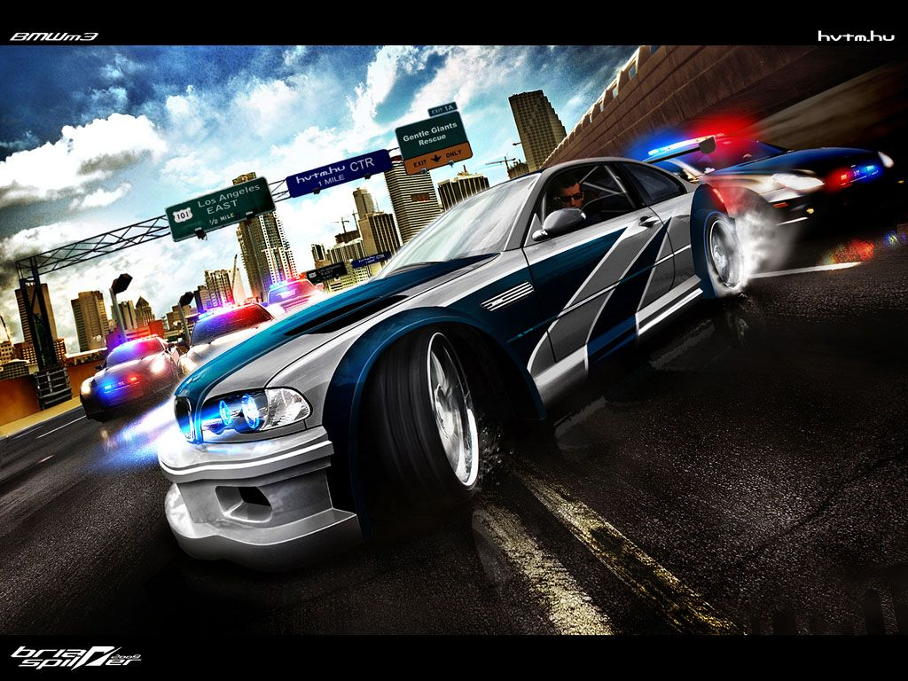 Need for speed most wanted bmw gtr