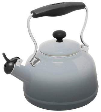Chantal 1 7 Qt Lake Vintage Stainless Steel Whistling Stovetop Kettle Products In 2019 Vintage Tea Kettle Tea Pots Kettle