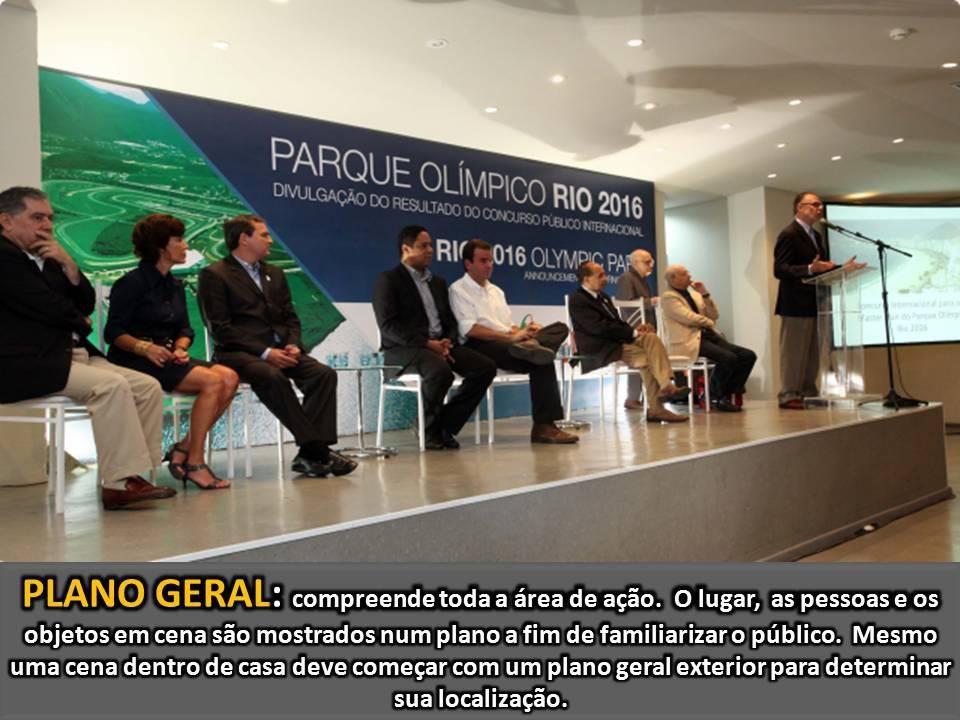 Plano geral - inauguração de Parque Olímpico