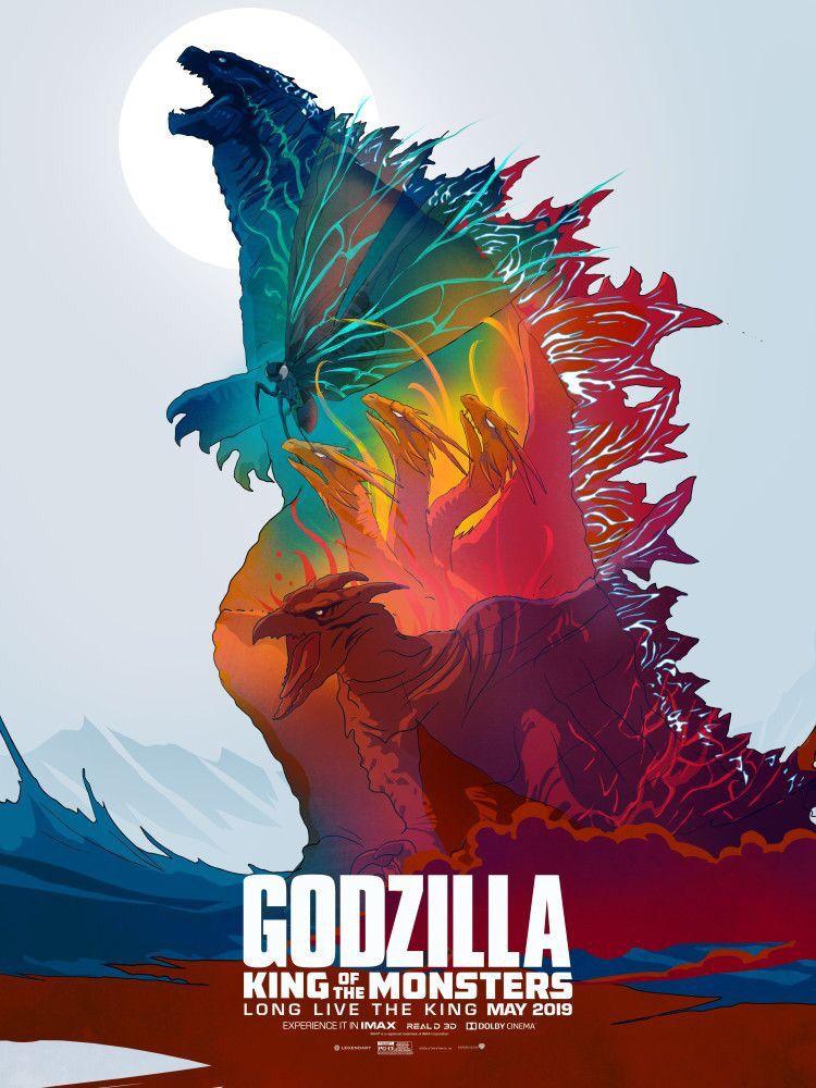 Godzilla King Of The Monsters 2019 750 X 1000 Godzilla All Godzilla Monsters Godzilla Wallpaper King of the monsters and kong: monsters 2019 750 x 1000 godzilla