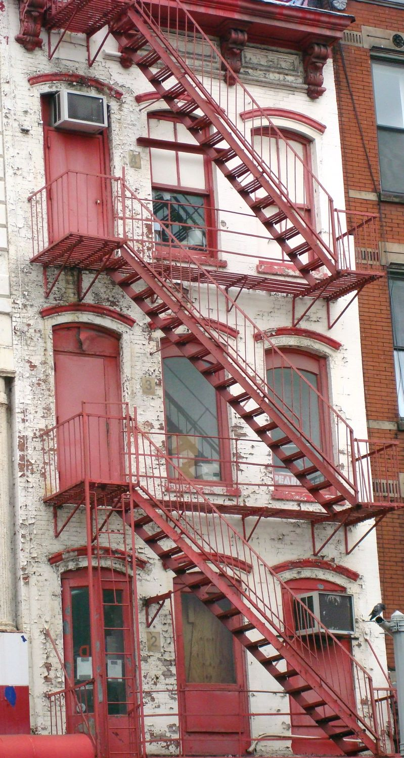 Fire Escape, Outside Stairs