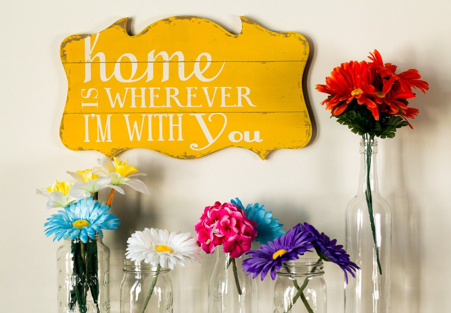 The Writing On The Wall - Wooden Plaque Wall Decor | Say it ...