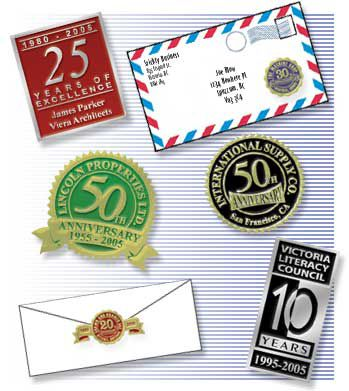 anniversary stickers for business arts arts