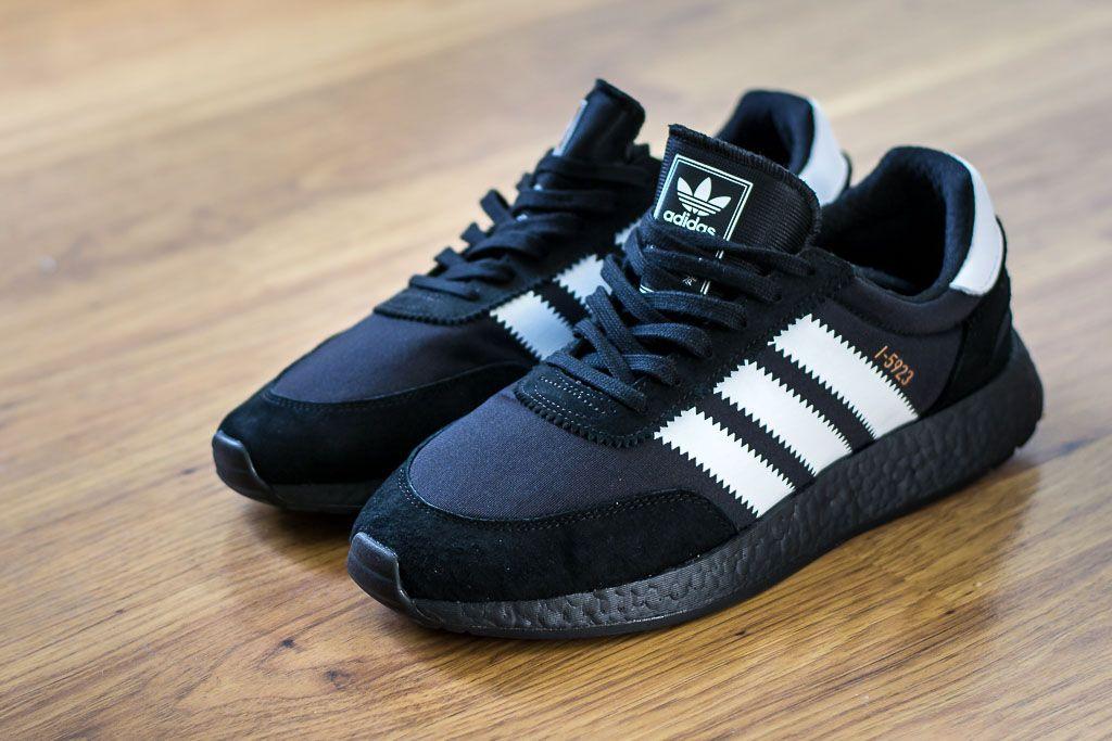 Adidas I 5923 Iniki Black Boost Sneaker Pickup & Unboxing
