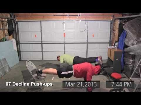 P90X Chest And Back Day 1 (Full Video Review)   Fitness