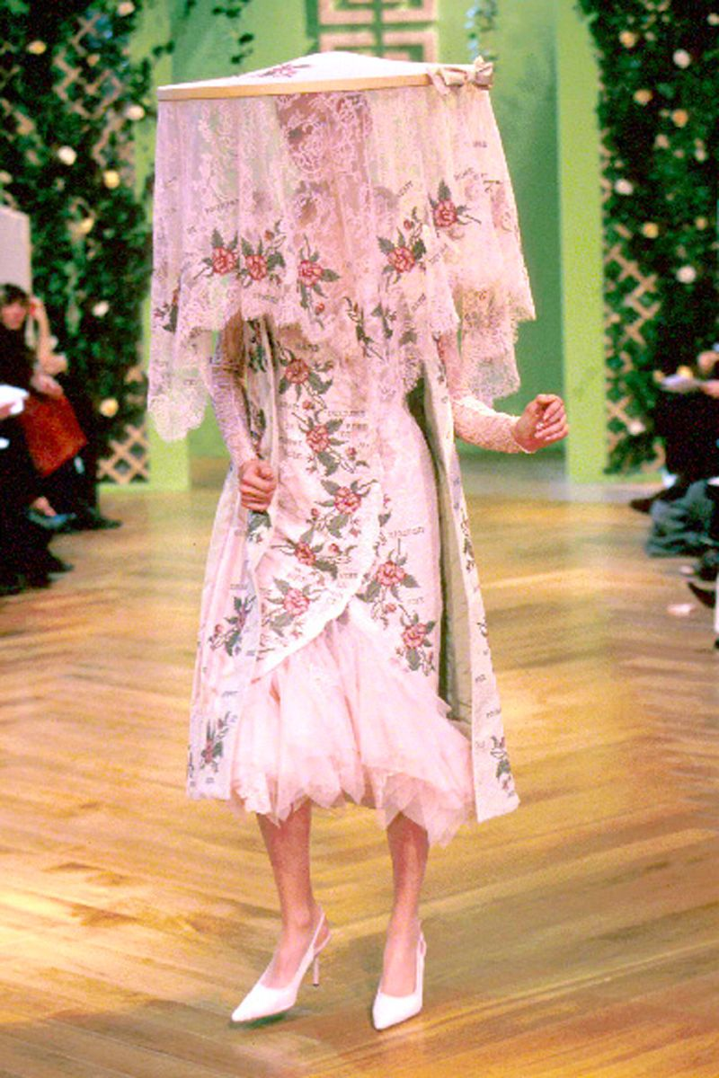 Givenchy Haute Couture S/S 1999 by Alexander McQueen