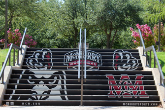 Check out these awesome steps at McMurry University