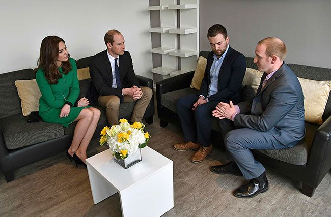 Kate Middleton and Prince William focus on suicide prevention on day of joint engagements (http://goo.gl/5rCy66) (Photo: © Twitter)
