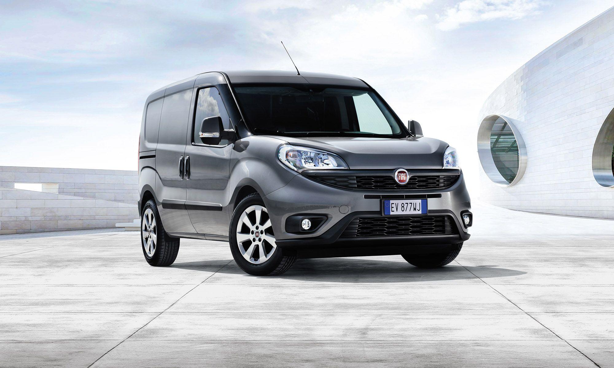 Fiat Doblo Facelift Debuts In Hanover Fiat Doblo Fiat Fiat Cars