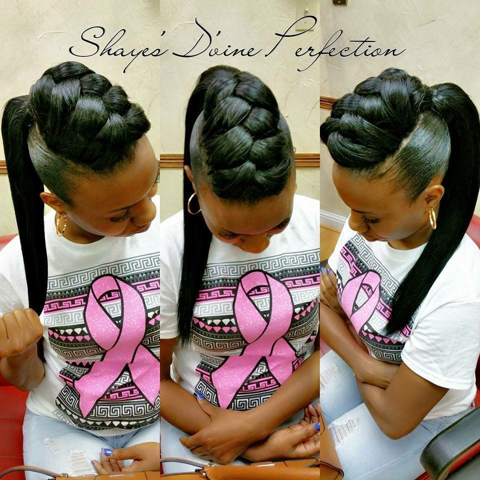 Pin by shawnetta ligon on bobs pinterest hair style ponytail