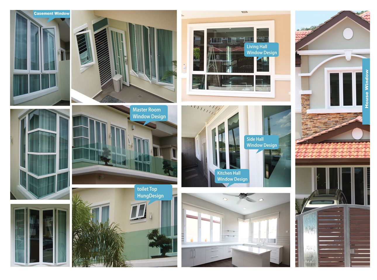 Images of windows for your home house window malaysia for Different types of doors for houses