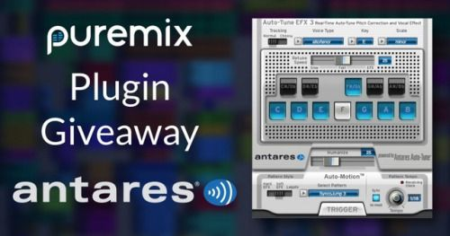 Win Iconic Antares AutoTune Vocal Effect Plugin! (03/01