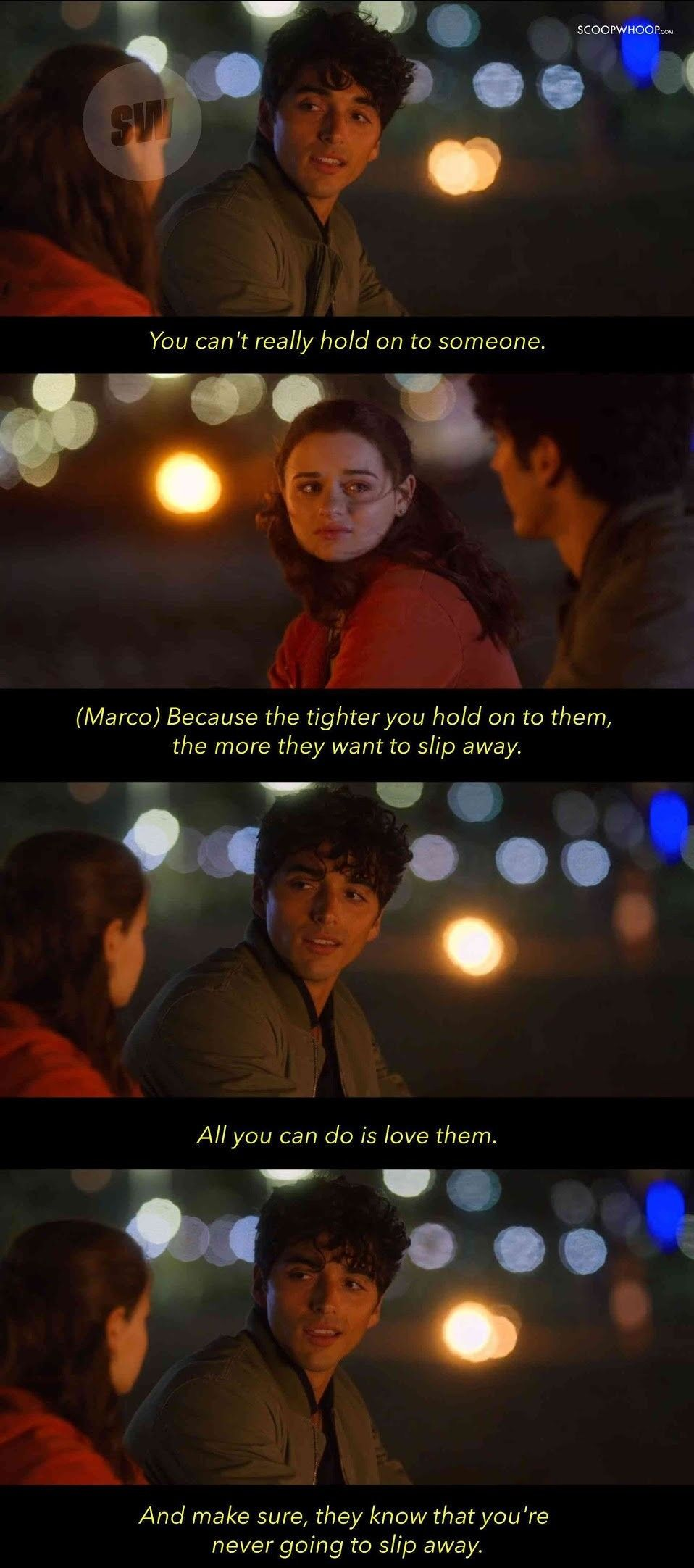Kissing Booth 2 Marco Pena Kissing Booth Romantic Movie Quotes Feeling Broken Quotes