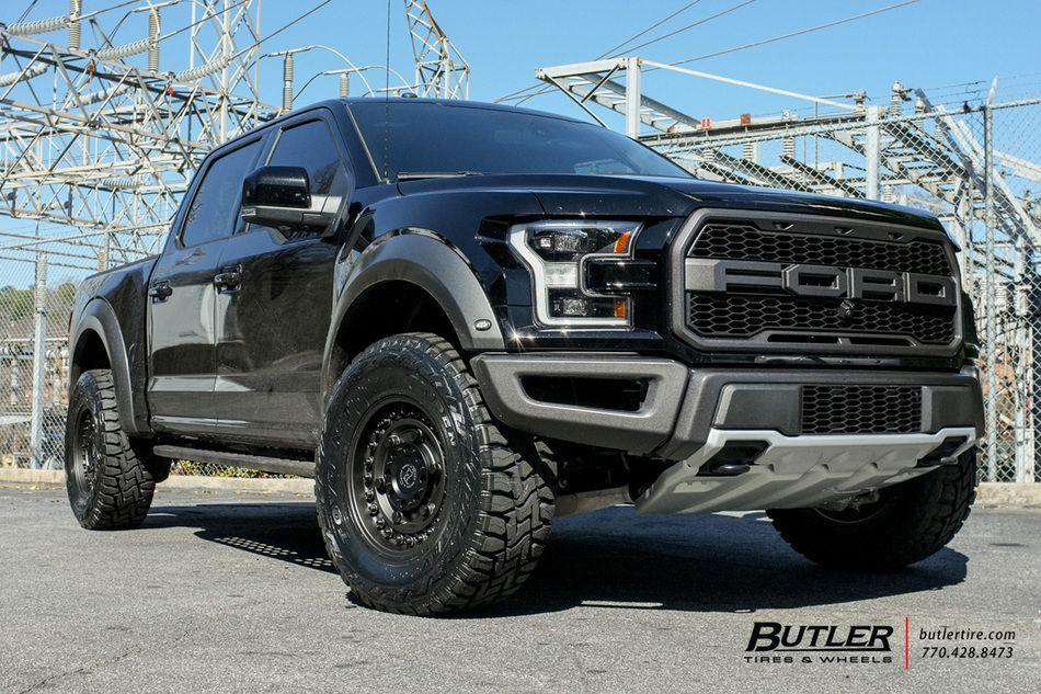 Ford Raptor With 18in Black Rhino Armory Wheels By Butler Tires