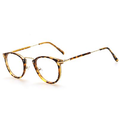 a0b1d92153 AOFLY New Style Men and women Fashion Vintage Eyeglasses Frame Optics Clear  lens Reading Glasses Retro armacao oculos de grau-in Eyewear Frames from  Men s ...