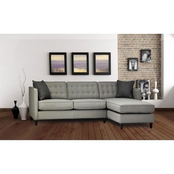Salt Sofa with Chaise (Love the colour of this)