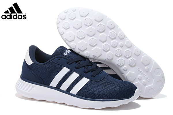 buy popular 69cad c7821 Men s Women s Adidas NEO Lite Racer Shoes Navy White,Adidas-NEO Shoes Sale  Online