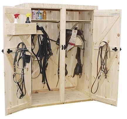 Saddle Racks For Tack Rooms | ... tack-trunk-least-2-saddle-racks ...