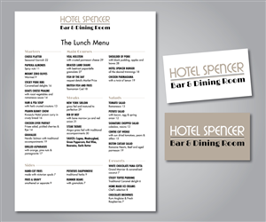 Menu Design by Ekanite - Logo and Menu Design Project