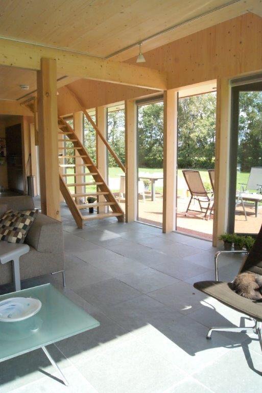 Modern barn, CLT, cross laminated timber, red cedar, Barnhouse ...