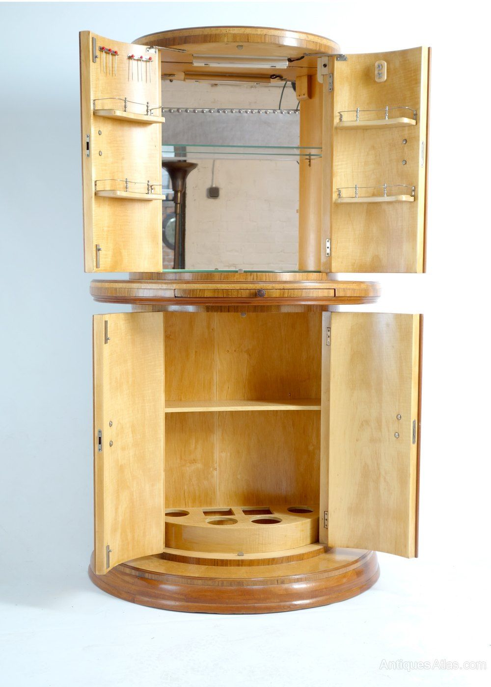 Art Deco Cocktail Cabinet By Harry & Lou Epstein - Antiques Atlas - Art Deco Cocktail Cabinet By Harry & Lou Epstein - Antiques Atlas