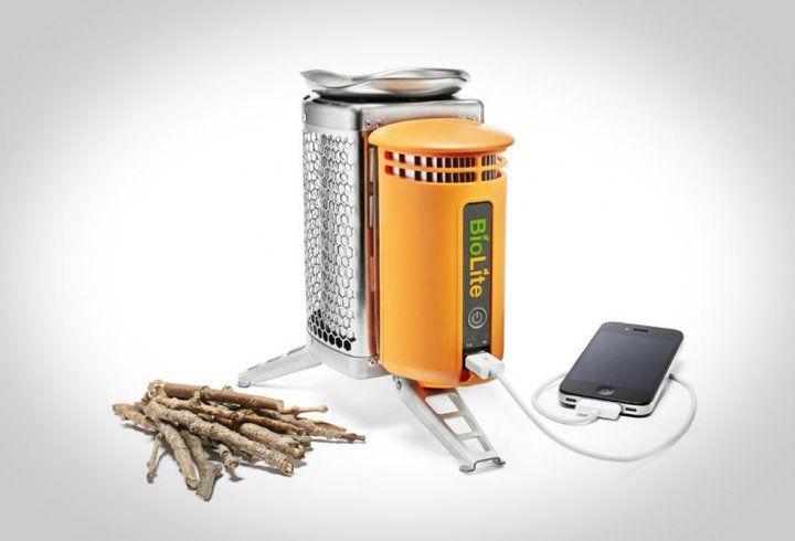 La cuisinière CampStove par BioLite convertit la chaleur de votre