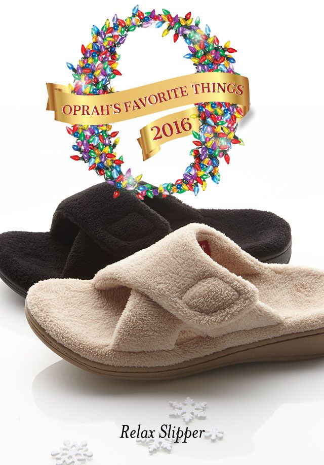 7155c9397aea Vionic Shoes- Our Relax Slipper is One of Oprah s Favorite Things ...