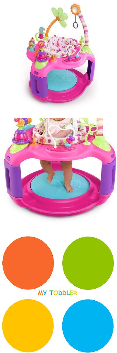 257a21b4b Baby Jumping Exercisers 117032  Bright Starts Pretty In Pink Bounce ...