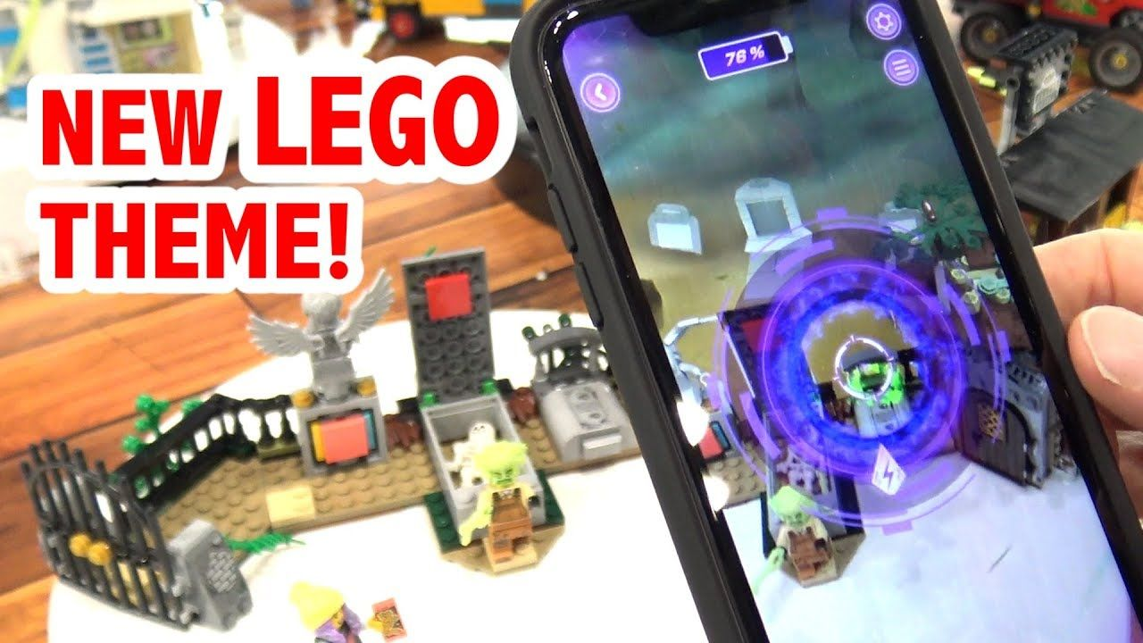 LEGO Hidden Side Sets + App Demo New York Toy Fair 2019