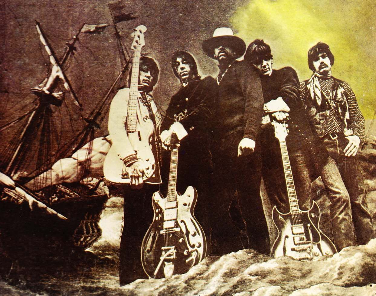 Is There A Backstory To The Guitars Of The Steve Miller Band S Sailor Steve Miller Band Rock N Roll History Rock Album Covers