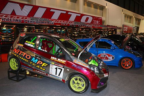 Nitto car accessories at the 30th Thailand International Motor Expo ...