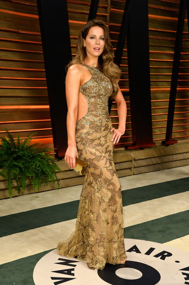 Kate Beckinsale | 57 Awesome Oscars After-Party Dresses The Stars Partied In Last Night