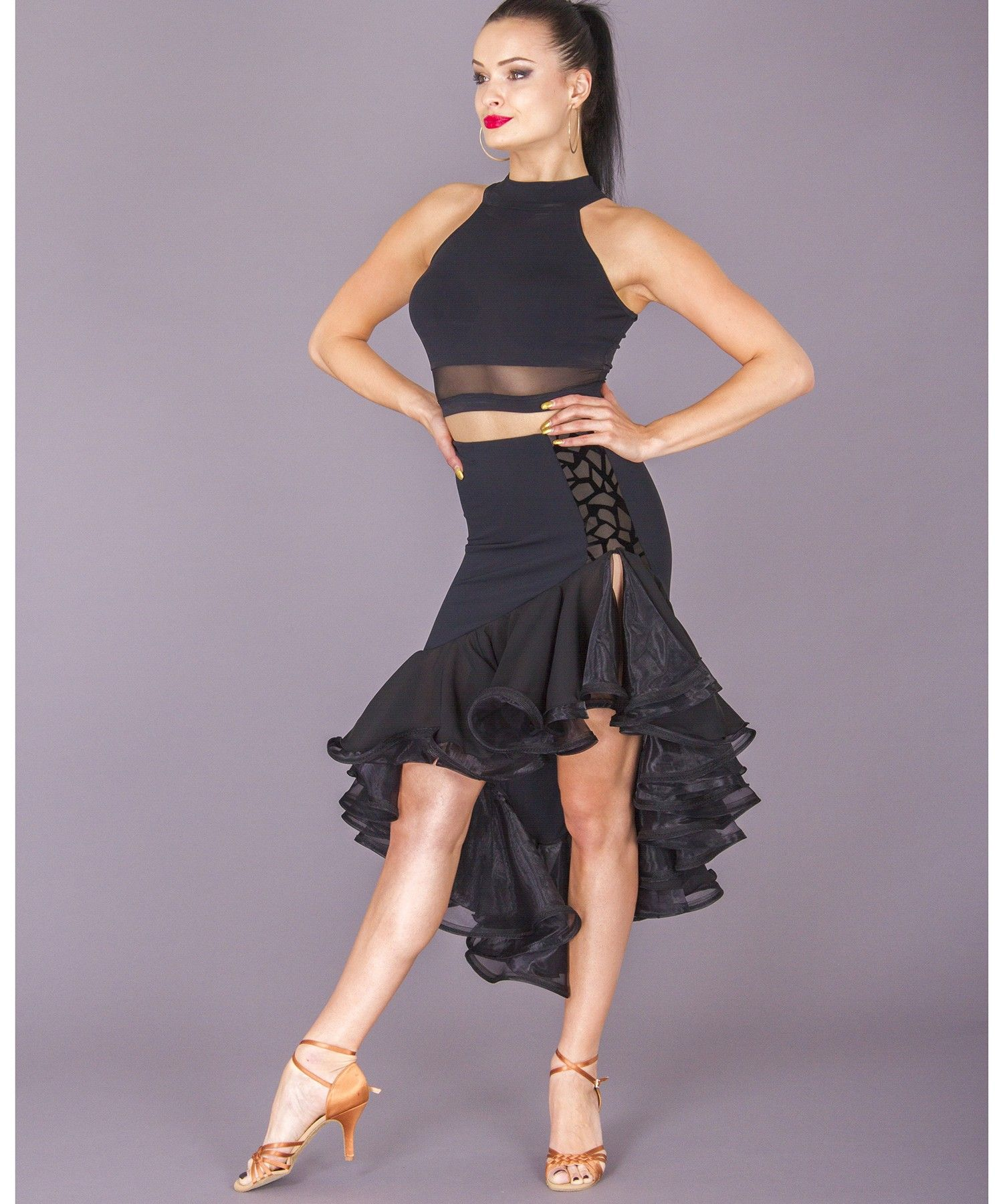 573f101409b6 Women's Skirts, DSI London, 3261 Julianna Skirt, $149.00, from VEdance, the  very best in ballroom and Latin dance shoes and dancewear.