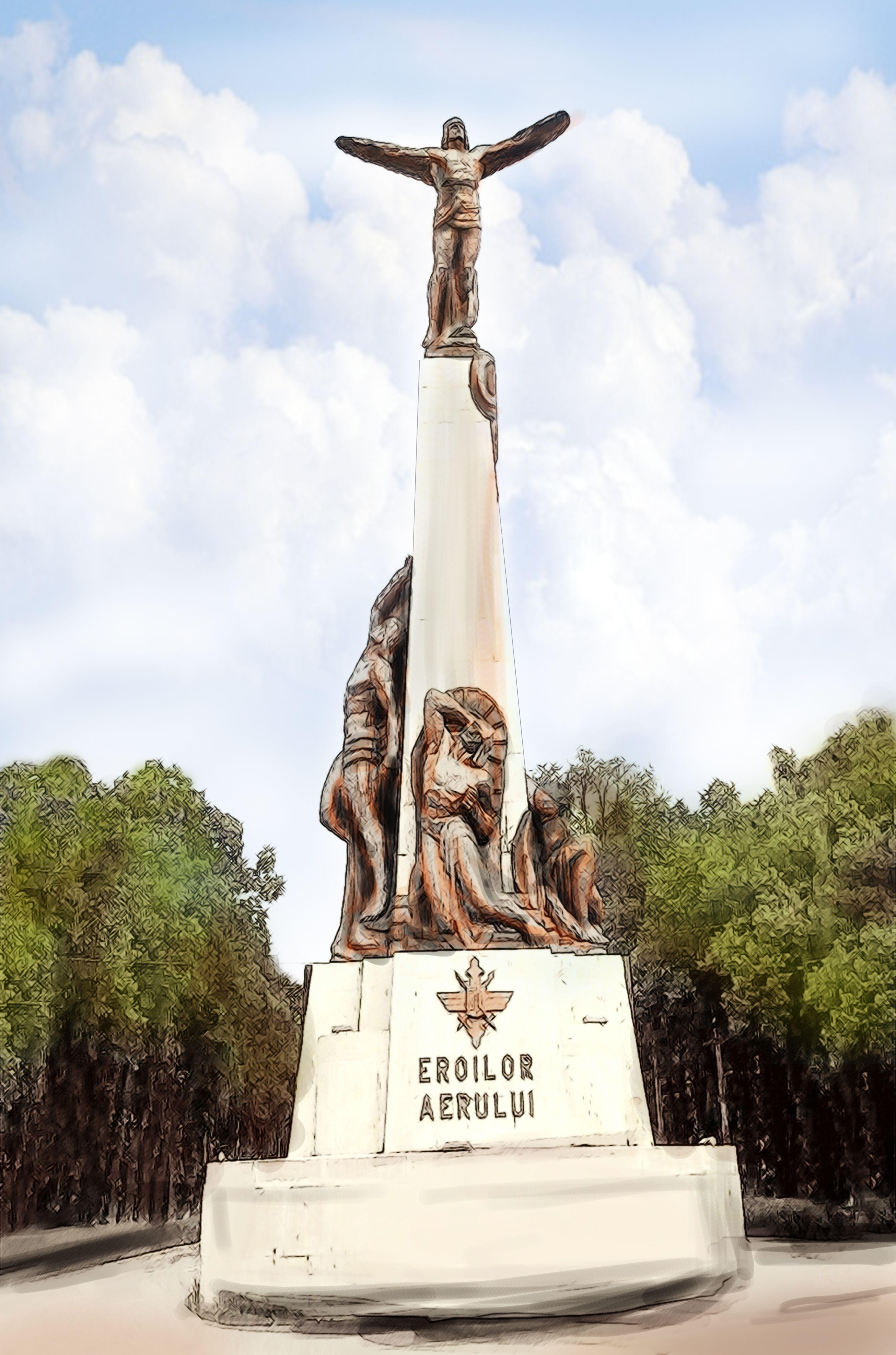 Romania / Monumentul Aviatorilor/Air Heroes