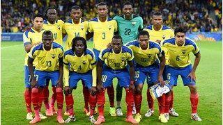 Ecuador lineup......