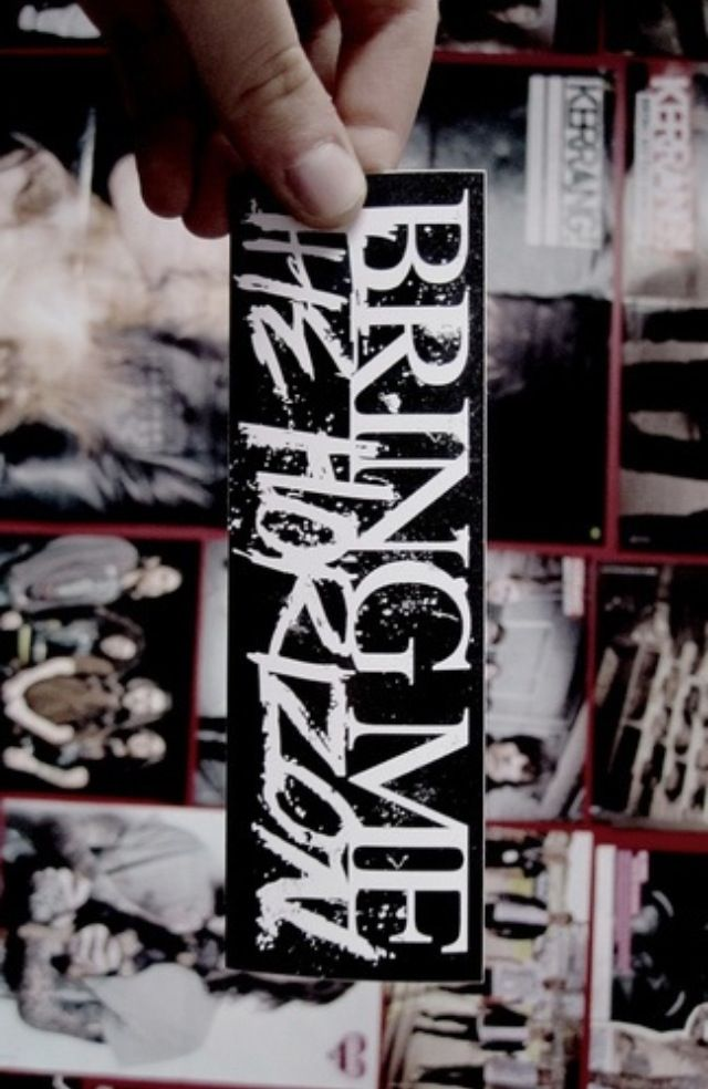 .:.:.:.:.:.Bring Me The Horizon.:.:.:.:.:.  I'm probably getting this tattooed on my right shoulder blade to match my sleeve (It's Bring Me The Horizon incorporated)