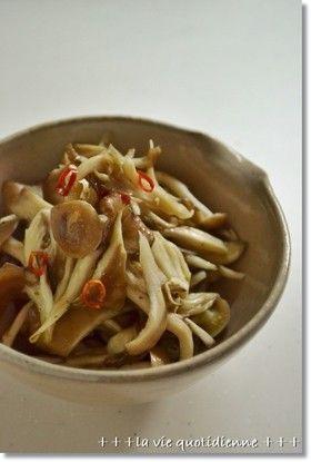 常備菜☆シメジとマイタケのピリ辛和え by ひとみっち。 【クックパッド】 簡単おいしいみんなのレシピが274万品