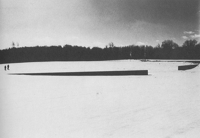 Richard Serra. Shift. King City, Ontario. 1970-1972.