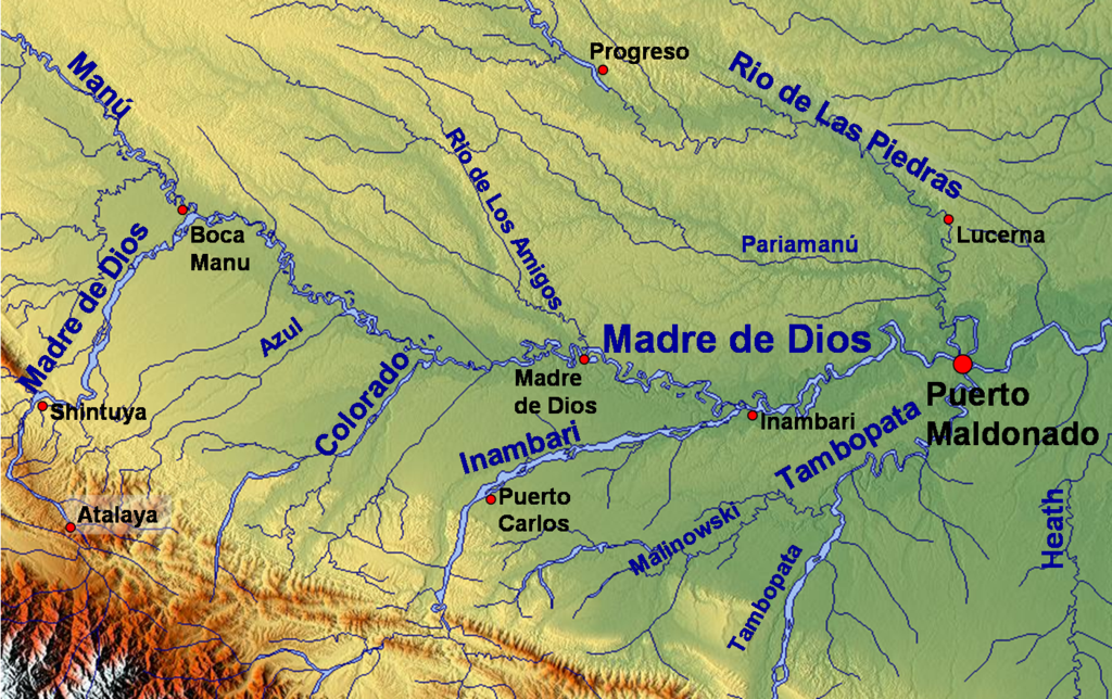 Africa Map Congo River%0A Tambopata River  Wikipedia  the free encyclopedia