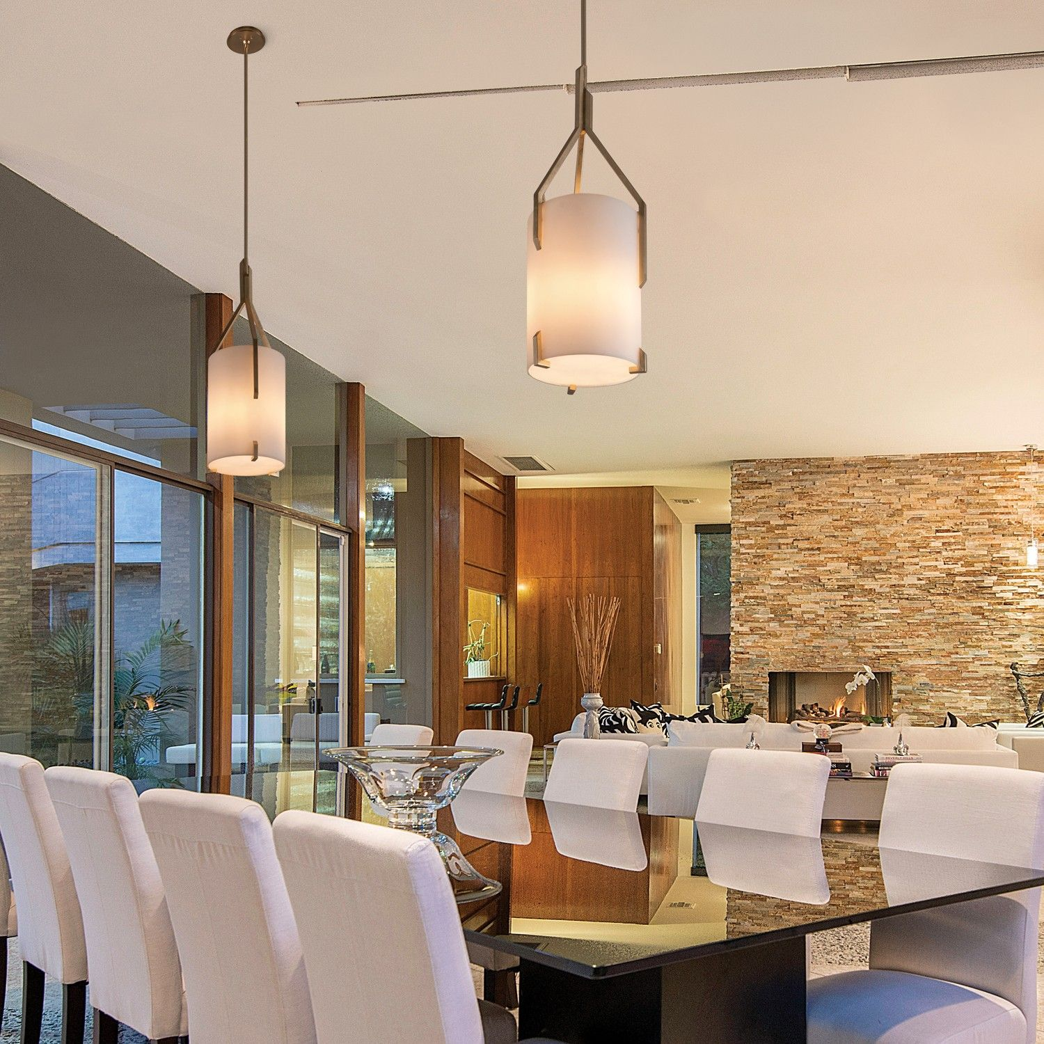 The Quantum Pendant Light Adds A Touch Of Refined Elegance To Any Space.  Http: