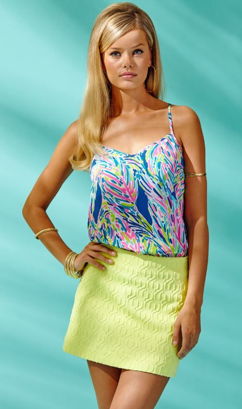 cc1dfa787469 Lilly Pulitzer Tate Skirt in Limoncello Retro Knit Jacquard
