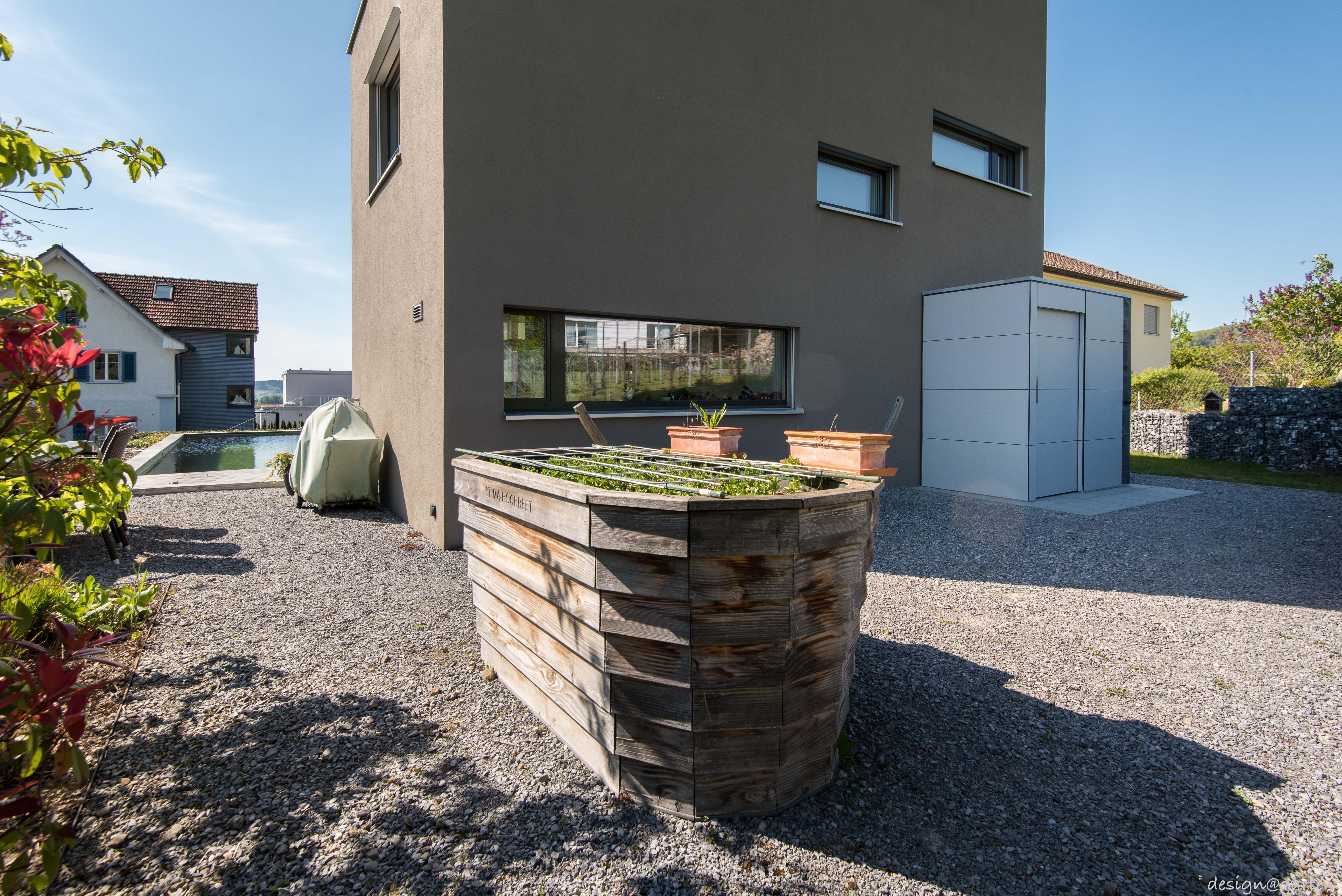 Design Gartenhaus _gart in Zürich by designgarten