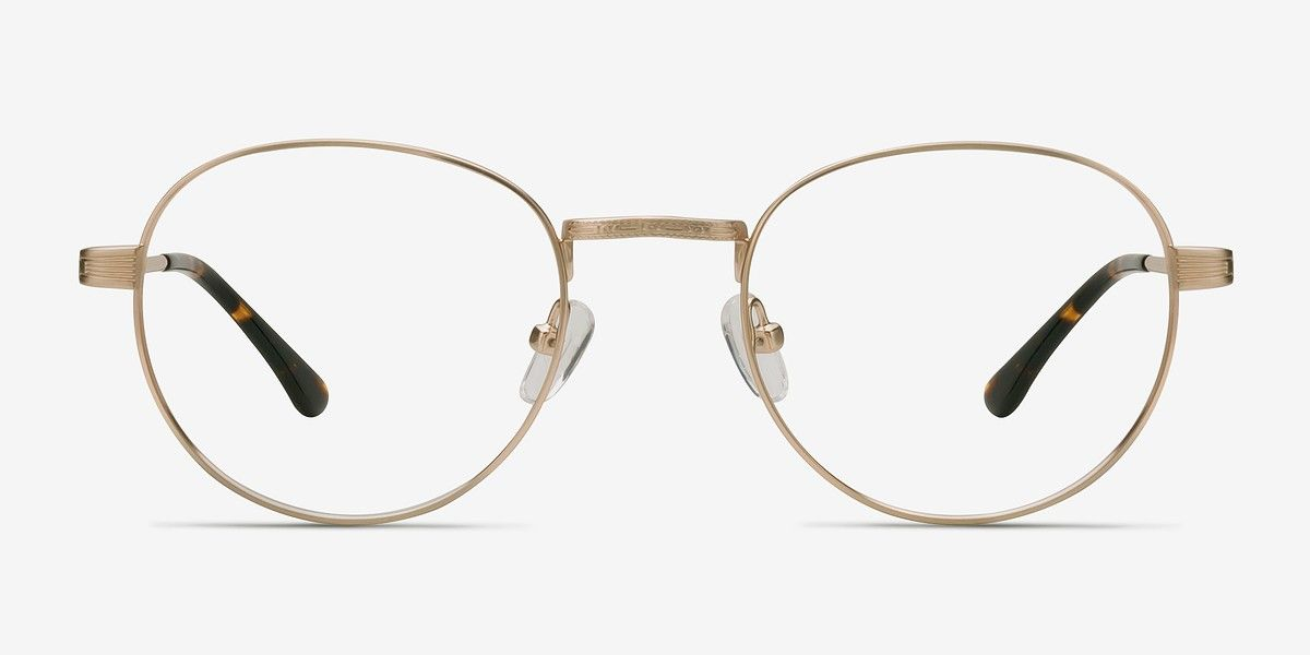 b8a56990bb4e Belleville Golden Metal Eyeglasses from EyeBuyDirect. Exceptional style,  quality, and price with these glasses. This frame is a great addition to  any ...