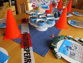 Polizei Geburtstag Polizei Geburtstag Polizei Kuchen