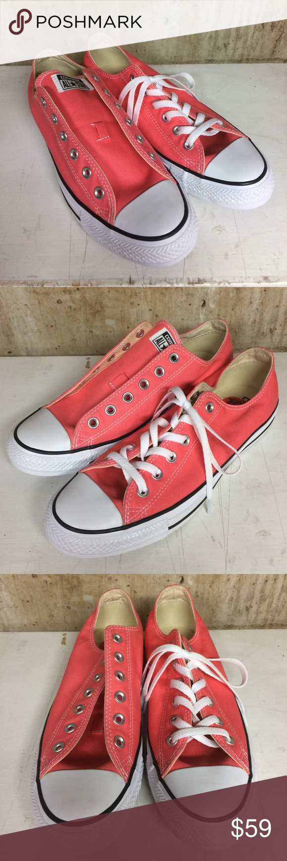 Converse Men's 8 Women's 10 Shoes Carnival Pink Super cool